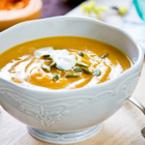 Крем супа от червена леща с картофи
