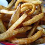 Пържени картофи с морска сол