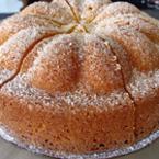 Лимонов кекс с бадемово брашно