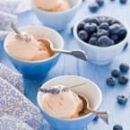 Сладолед от праскови