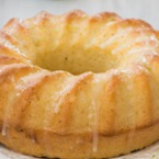 Лимонов кекс със захарна глазура