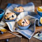 Мъфини с боровинки и лимон