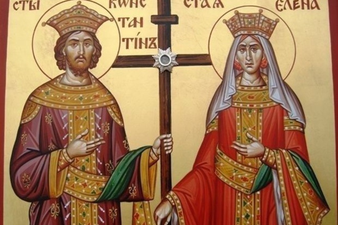 Св. Константин и  Елена