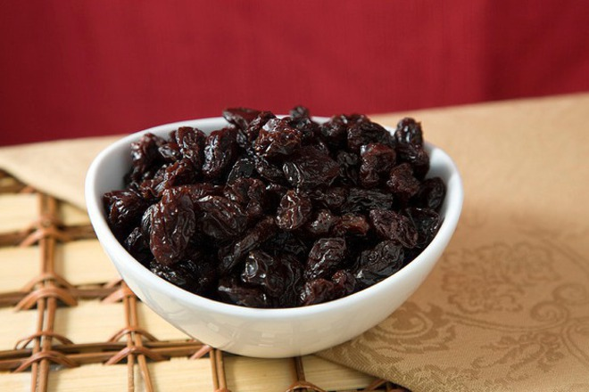 сушени вишни