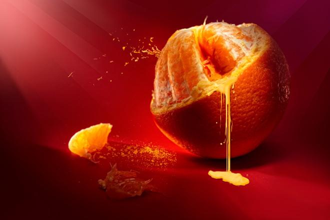 фреш от портокал