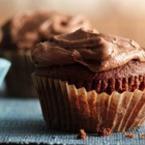 Шоколадови мъфини с каков крем