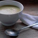 Крем супа от броколи с чесън
