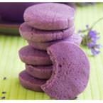 Лилави сладки с бадемово брашно