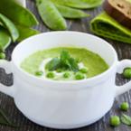 Крем супа от зелен боб с грах