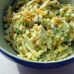 Яйчена салата с майонеза и селъри
