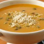 Крем супа от тиква с джинджифил и пармезан