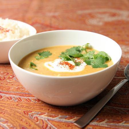 Large krem supa ot kartofi s dzhindzhifil