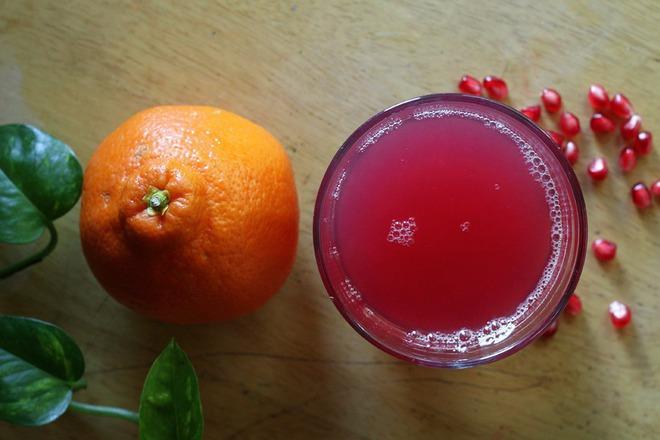 Фреш от портокал с нар