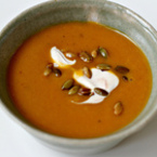 Крем супа от тиква с моркови