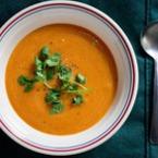 Крем супа от моркови с тиква