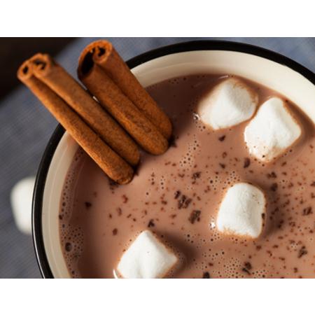 Large mlyako s kakao kanela i marshmelou