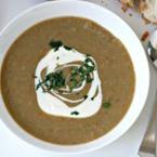 Крем супа от леща с броколи