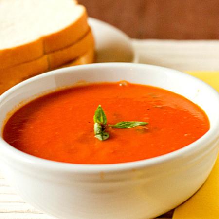 Large krem supa ot domati s morkovi