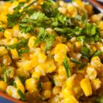 Салата от царевица с магданоз и пармезан