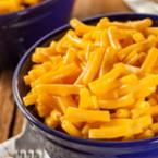 Макарони с масло и сирене чедър