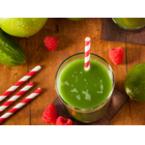 Фреш от зелени ябълки с лайм и краставица