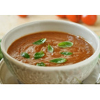 Крем супа от леща с домати