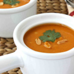 Крем супа от моркови с фъстъци