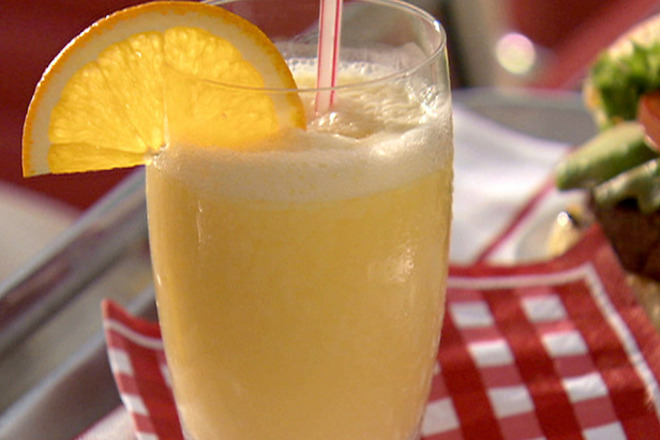Фреш от портокал с лимон и мака