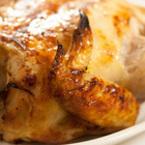 Печено пиле с кашкавал и розмарин