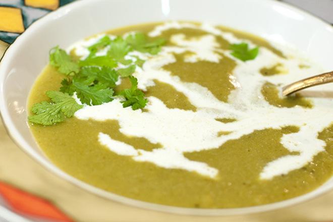 Крем супа с картофи и броколи