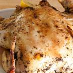 Печено пиле с лимони