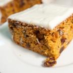 Сладкиш с моркови и орехи