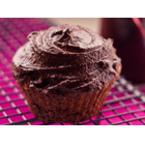 Какаови мъфини с кафе и маслено-шоколадов крем