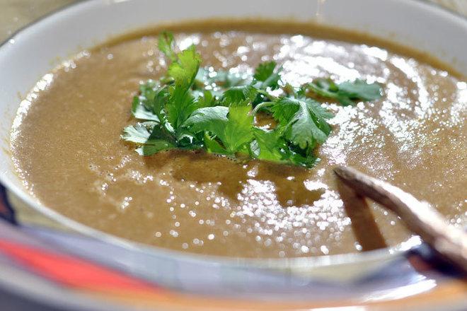 Крем супа от тиквички с моркови и картофи