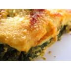 Лазаня със спанак, сирене и кашкавал