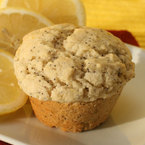 Лимонови мъфини с бадемово брашно и маково семе