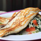 Филе от риба на скара
