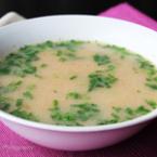 Пилешка супа по гръцки