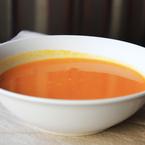 Крем супа от моркови с портокал