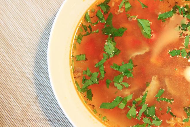 Супа от говеждо месо