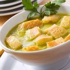 Крем супа от грах и картофи