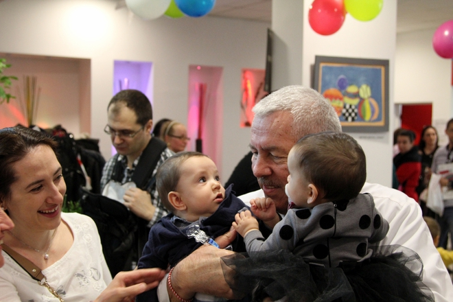 """Бебешко парти по случай Благовещение в Медицински комплекс """"Д-р Щерев"""""""
