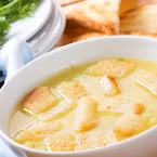 Крем супа с картофи и гъби