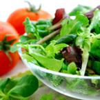 Зелена салата с рукола и спанак
