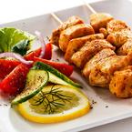 Пилешки шишчета по марокански