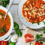 Доматена крем супа с фузили