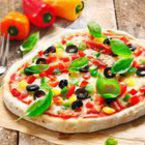 Пица с чушки и моцарела