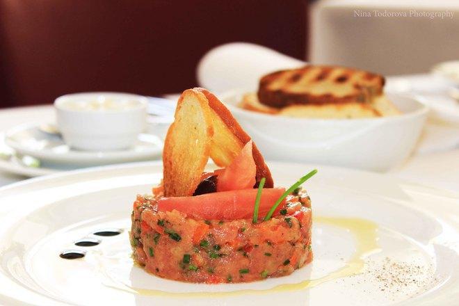 Тартар от риба тон