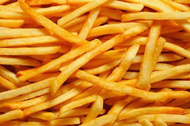 Пържени в зехтин картофи