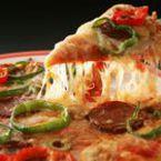 Пица с чушки, маслини и салам
